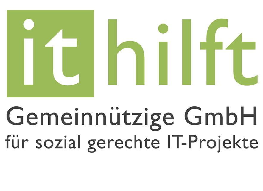 Logo der gemeinnützige IT hilft gGmbH